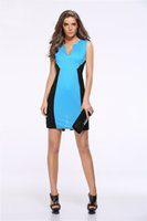 Wholesale Dresses For Work Summer - 2016 Summer Dresses New Arrivals Hot dresses for womens club dresses Casual European Style casual Dresses for Ladies cute working dress