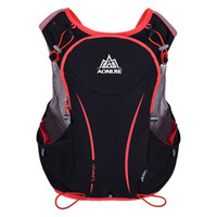 Wholesale holiday backpacks - Wholesale- Outdoor holiday 5L Light Wight Sport Running Backpack Women Men Marathon Hydration Vest Pack Bag Cycling Hiking Bag