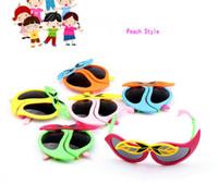 niedliche jungen sonnenbrille großhandel-Cute Cartoon Animal Design Kinder UV Sonnenbrille Anti-Strahlung Schutzbrillen Kinder Coole Spielzeug Brillen polarisierte Gläser Für Mädchen Jungen