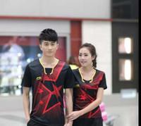 yeni kıyafetler badminton li ning toptan satış-Chrismast hediye 2016 YENI Astar Badminton gömlek, Li-N016 YENI Astar Badminton gömlek, Li-Ning Giysi, T-shirt