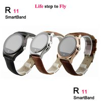 Wholesale Portable Heart Monitors - R11 MTK2501 smart watches Bluetooth 4.0 IP67 with heart rate monitor Remote Camera Anti - loss smartwatch portable devices