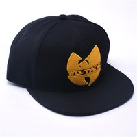 Wholesale Wu Tang Brand - Wu Tang Hat Snapback Caps Hip Hop Brand Flat Brim Baseball Cap Youth Hip Hop Cap And Hat For Boys And Girls