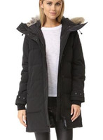 Wholesale Women S Down Coats Price - Wholesale Price New Arrival Canada Brand Women's Shelburne Parka winter fur hoodied coat black navy red down Jacket Free Shipping