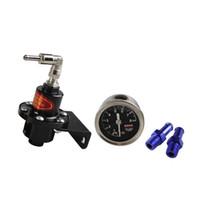Wholesale Adjustable Pressure Regulator - RASTP-Adjustable SARD Turbo Fuel Pressure Regulator FOR RX7 S13 S14 Skyline WRX EVO W O GAUGERS-FRG002