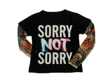 Wholesale Tattoo Printed Shirts - BABYBALL Children's T shirt Boys t-shirt Baby Clothing Little Boy Full shirt Tees Designer Cotton Tattoo Print Baby T shirts