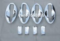 Wholesale Trimmer Bowl - Car styling Door Handle Cover Door Handle Bowl Trim Cup cap trim For 2015 2016 Qashqai