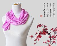 Wholesale Scarf Chiffon Mix - Mixed Sale Girls Candy Scarves Elegnant Gauze Fabric Long Scarf 160*30CM Woman's Wraps Free Shipping