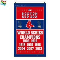 Wholesale Free Mlb - GoodFlag Free Shipping Boston Red Sox World Series Champions Flag 3ft x 5ft Polyester MLB Banner Flying Size No Outdoor Flag