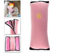 Wholesale Wholesale Padded Seat - 2017 Baby Auto Pillow Car Covers Safety Belt Shoulder Pad Cover Vehicle Baby Car Seat Belt Cushion for Kids Children Car Styling