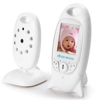 Wholesale Infant GHz Wireles Baby Camera Radio Babysitter Digital Video Baby Monitor Audio Night Vision Music Temperature Display Radio Nanny