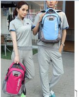 Wholesale Canvas Backpack For Fashion - fashion casual sport double-shoulder travel backpack for women school bags for teenagers printing men backpack sac a dos