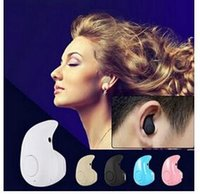 Wholesale Ear Buds Bluetooth Headsets - New Cheap Mini Wireless Bluetooth Earphones And Headphone V4.0 Handsfree In-ear Music Ear Buds Headset With Microphone For iphone Samsung