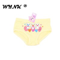 Wholesale China Underwear Girls - 2017 China supplier Girls Underwear Fashion Kids Cute bamboo fabric Printing Underwear Hot Children Breathable and Comfortable Underwear