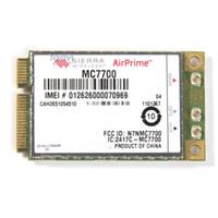 3g karte laptop großhandel-Großhandels-entriegeltes Sierra AirPrime (tm) MC7700 3G WWAN-Modul Mini PCI-E-Karte 100 MBit / s LTE HSPA + GPS GSM GPRS-RAND WCDMA Moblie Broadband
