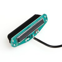 Wholesale Electric Parts For Guitar Pickup - Wholesale- 1PC Guitar Parts Electric Guitar Neck Pickup Dual Hot Humbucker Rail For Strat Stratocaster Pickups