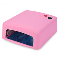 Wholesale white gel nails - Professional Gel Nail Dryer High quality W UV Lamp V EU Plug Led Nail Lamp Curing Light Nail Art Dryer tools