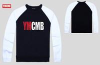 Wholesale hoodies ymcmb - 22 colors s-5xl Hoodies Men Sweatshirt Male ymcmb 01 round neck sweater Casual Sports Male Hoodies
