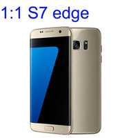 Wholesale Goophone Models - S7 edge 1:1 Goophone 5.5Inch Android 6.0 Real 1G 8G Quad Core Curved Screen show 4G Lte mtk6592 Octa core Sealed Box Cell Mobile phone
