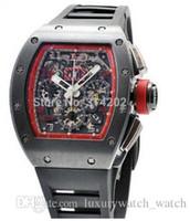 Wholesale Prix Steels - Luxury Watches New 011 Felipe Massa Singapore Grand Prix Black Rubber Strap mens watch Wristwatches Men's Wristwatches