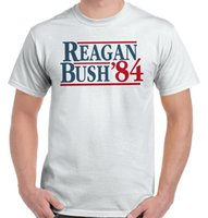 george t shirt - New Ronald Reagan George Bush Campaign T Shirt