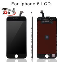 Wholesale 5PCS No Dead Pixel for IPhone LCD Display Touch Screen Digitizer Assembly Replacement Black or White