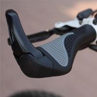 Wholesale Ergonomic Bike Grip - 2Pcs Pair Bicycle Bike MTB Components Bar ends Handlebars Rubber Grips & Aluminum Barend Handle bar Ergonomic Push On Soft Grips 2 Colors