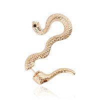Gros-New Punk Rock Serpent Clip Oreille Wrap Earring Femmes Mode Vintage Ear Cuff Bijoux 2E305