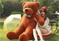 Wholesale Girls Stuffed Animal Huge - toy Free shipping lovely giant s stuffed animal  big bear plush toy large teddy bear huge teddy bear 90cm