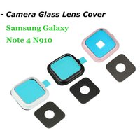 Camera Glass Lens Cover Frame para Samsung Galaxy Note 4 N910 CPA_404