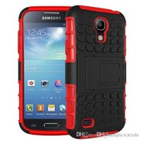 Wholesale Defender Case For S4 - For Samsung S4 phone shell, high-grade TPU + PC 2 in 1 rubber Armor Defender Hybrid Heavy Duty phone case