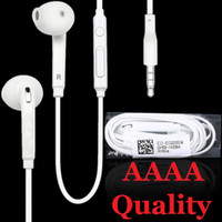 Wholesale samsung s6 edge headphones for sale - Group buy High Quality mm earphones Stereo in ear earphone headphones headsets with mic and remote Volume Control For Samsung S7 S6 S6 Edge