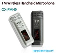 Wholesale Handheld Megaphone - Handheld FM wireless microphone for megaphone loudspeaker tour guide conference sales promotion wireless MIC free shipping