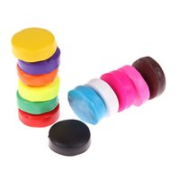Wholesale Colour Dough - New Mixed Colour 12 Oven Bake Polymer Clay Modelling Moulding Block Art Design Playdough Play Dough K5BO