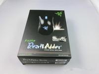 ordinateurs portables à prix d'usine achat en gros de-Razer DeathAdder Version OEM Souris de jeu améliorée 3500dpi Marque nouvelle souris de jeu pour ordinateur portable Prix usine