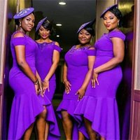 Wholesale High Low African Bridesmaid Dresses Buy Cheap High Low