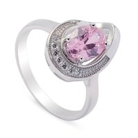 Wholesale wholesale 925 sterling silver reviews for sale - 925 sterling silver for women Rings Pink Cubic Zirconia Favourite S sz Rave reviews Noble Generous Best Sellers Brand New