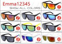 Wholesale mercury mix - Newest FAME 2034 fashion sunglasses dazzle colour mercury reflectors Big frame sunglasses frame sunglasses quality A++++