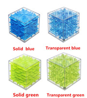 Wholesale 3d Puzzle Ball Game - Cool!! Maze Magic Cube Puzzle 3D Mini Speed Cube Labyrinth Rolling Ball Toys Puzzle Game Cubos Magicos Learning Toys For Chilren