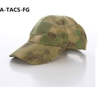Wholesale Male Hiking Cap - 2016 Hiking male hat Summer camping man's Camouflage Tactical hat army Fishing bionic Baseball cadet army cap