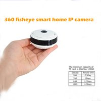 360 Grad Fisheye WiFi Spion Kamera HD Panorama Kamera Nachtsicht Bewegungserkennung VR Kameras P2P Smart IP Camcorder Home Security Cam