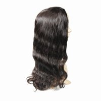 Wholesale Hand Tie Wig Caps - Top Grade 130 density Best Brazilian Human Hair Wig Full Lace Wig Cheap Human Hair Lace Front Wig Glueless Cap