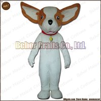 köpek kostüm çocuğu toptan satış-Chihuahua köpek maskot kostüm EMS ücretsiz kargo, ucuz kaliteli karnaval partisi Fantezi peluş yürüyüş köpek maskot karikatür yetişkin boyutu.