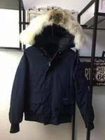 Wholesale Big Hood Woman - C11 CHILLIWACK Good Quality women winter jacket Wolf Fur parkas Euro Size anorak coats with big fur hood parka women jackets overcoats