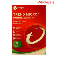 Wholesale Newest Version - Newest Trend Micro Titanium Maxmium Internet Security 11 2017 2018 1Year 3 PC Computer Protection Multilanguage Version