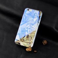 iphone bedeckt licht groihandel-Großhandelsmoderner blauer Strahln-heller freier Handy-Fall für iPhone7 4.7inch für iphone 7Plus 5.5inch lustige Muster-transparente Abdeckung