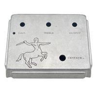 kasteneffektpedal großhandel-Klon Centaur Silver Overdrive Gitarren-Effektpedal Aluminium-Box-Klon