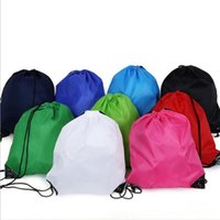 Wholesale Pe Clothes - kids' clothes shoes bag School Drawstring Frozen Sport Gym PE Dance Backpacks fast shipping