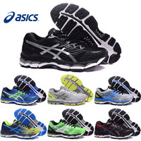 Wholesale free shipping running shoes original for sale - Group buy Asics Gel Nimbus XVII Men Running Shoes Original Cheap Jogging Sneakers New Breathable Outdoor Sports Shoes Size