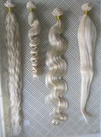 ingrosso platino estensioni dei capelli ricci-Fili all'ingrosso del tessuto biondo # 60 di platino 7a non trasformati capelli malesi vergini del tessuto riccio 100g estensioni dei capelli di Remy 30