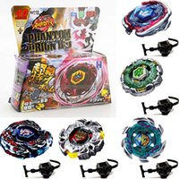 Wholesale Beyblade Rapidity Sets - Fusion Top 4D Rapidity Fight Metal Master Beyblade 4D Launcher Grip Set Collection BB105 BB106 BB108 BB114 BB117 BB118